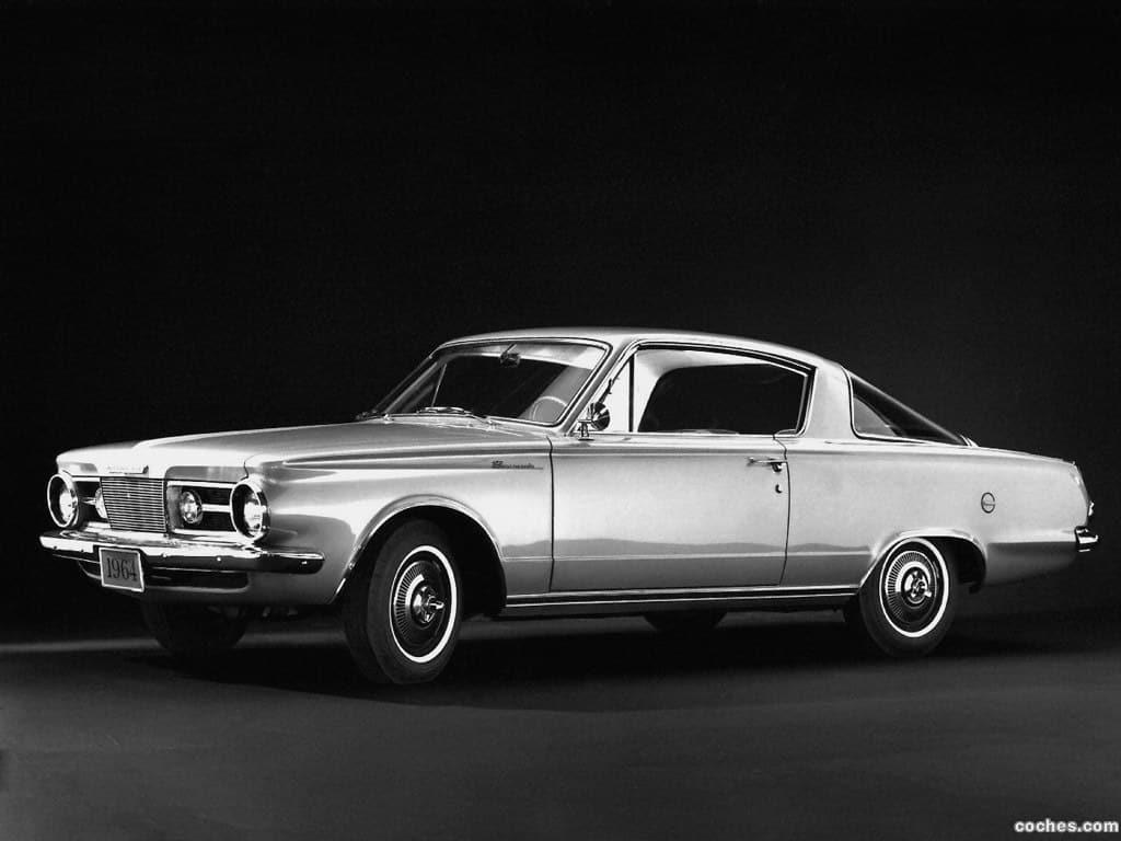 First Generation 1964 Plymouth Barracuda Carlassic