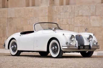 1958 Jaguar XK150 Spring addition 1957