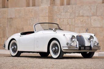 1958 Jaguar XK150 Spring addition 1957