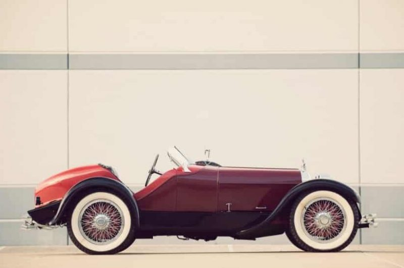 Duesenberg Speedster Model A by Benny Brandfon