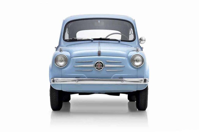 1955 Fiat 600 AKA Seicento Super-Mini