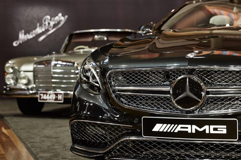 Mercedes-Benz Celebrates 130 years at Motorclassica