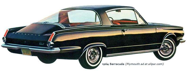 First Generation 1964 Plymouth Barracuda – Carlassic