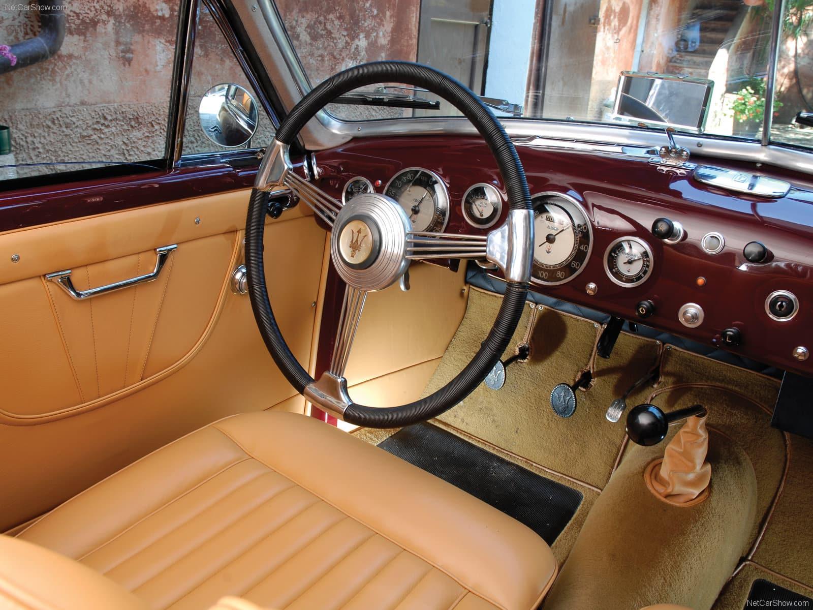 Interior Maserati Classic car