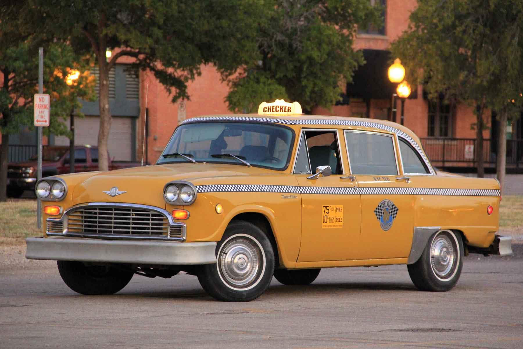 Checker Marathon America S Classic New York Taxi Cab
