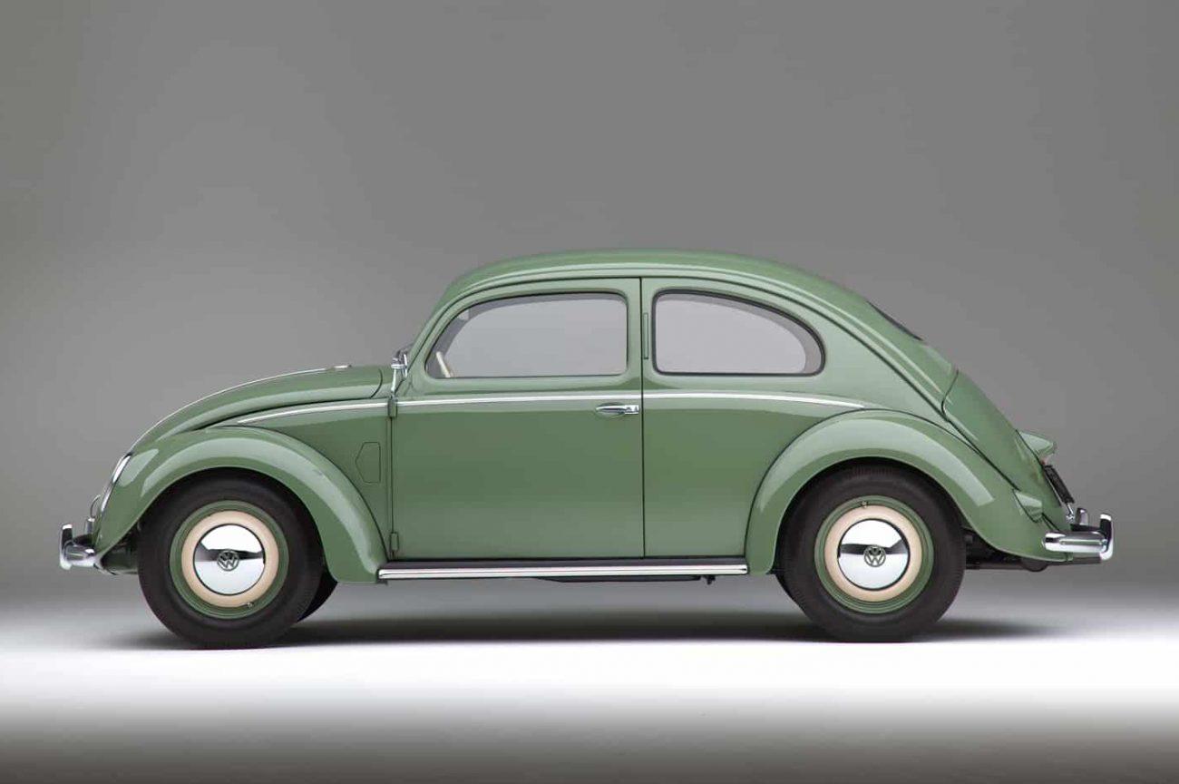 The Last Split Rear Screen Volkswagen Beetle Manufactured in March 1952