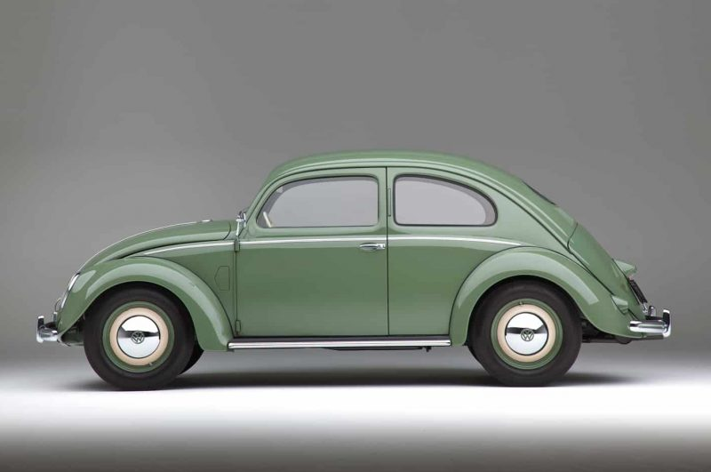 The Last Split Rear Screen Volkswagen Beetle Manufactured in March 1952