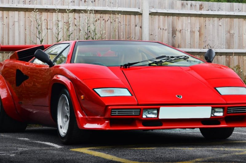 Lambo Lovers it's Lamborghini Countach 5000S