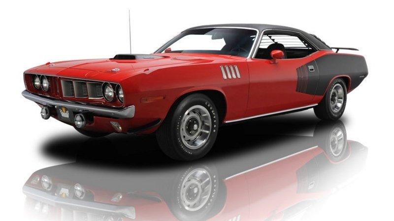 1970 Hemi Cuda Convertible sold for $2 Million
