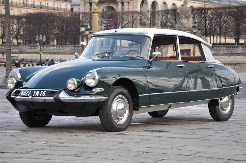"""Most Beautiful Car""1955-1971 Citroen DS21 Pallas"