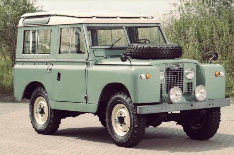 Post World War II Land Rover Series 3