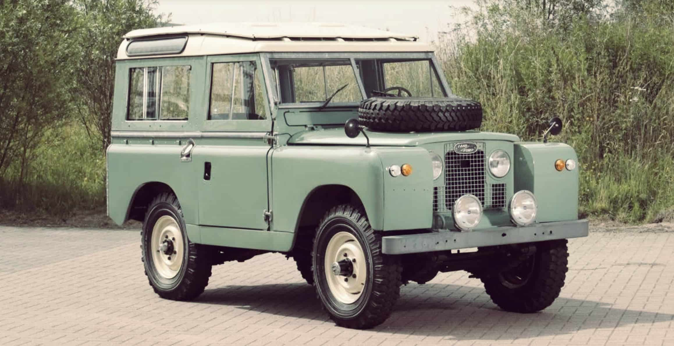 Post World War Ii Land Rover Series 3 Carlassic