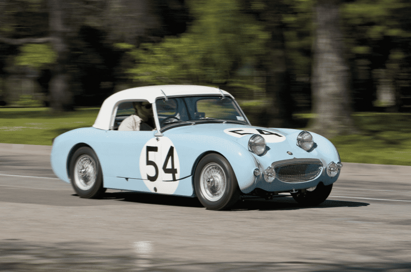 Wind in Your Hair with the Austin-Healey Sprite Mark 1
