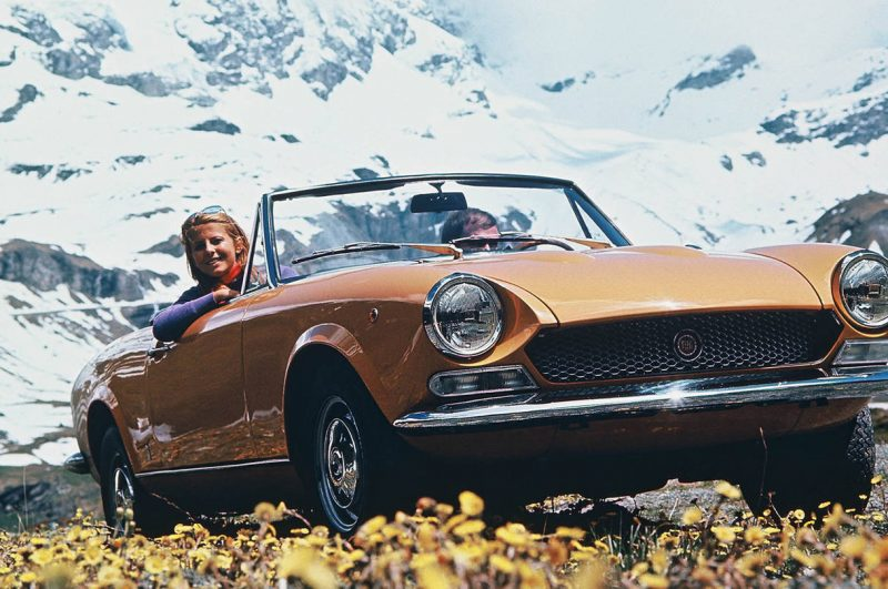 Car of the Day – Fiat 124 Sports Spider!