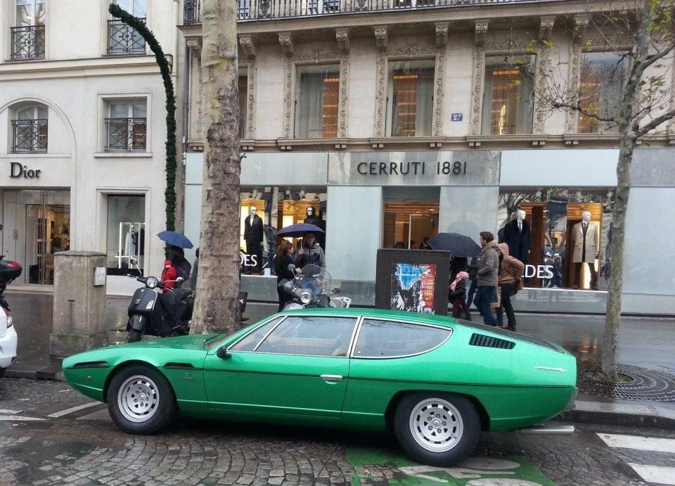 Green Machine Lamborghini Espada