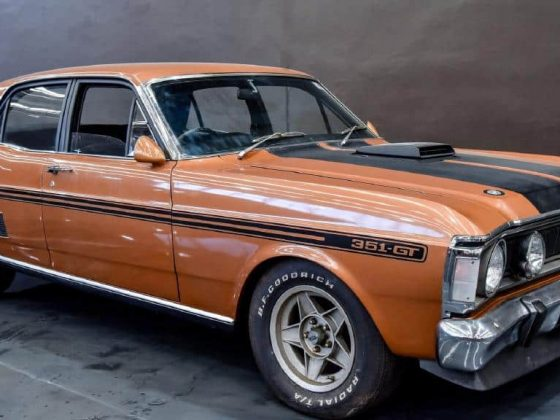 Daily Mail Ford Falcon