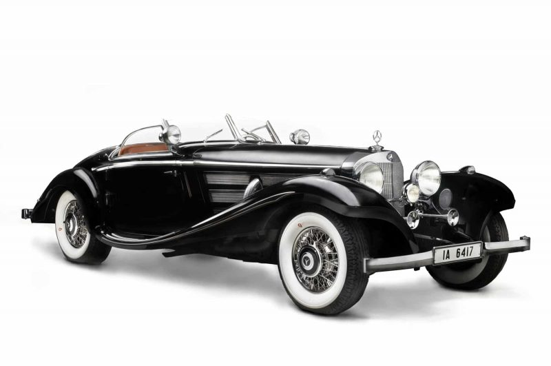 Historical 1930s Mercedes-Benz 540K Special Roadster