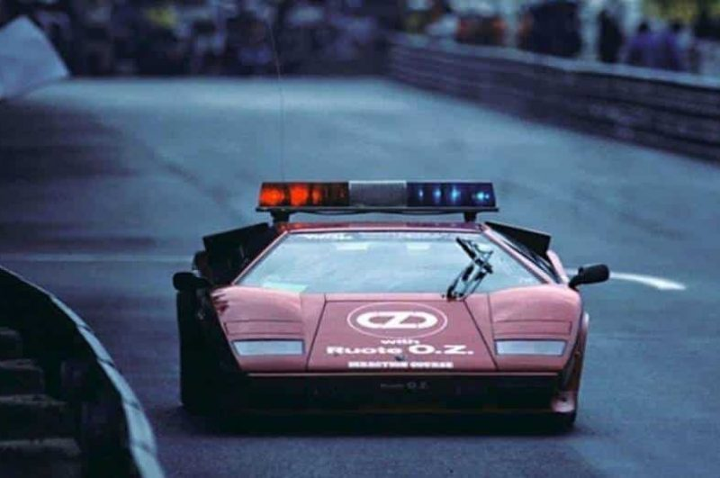 The Coolest Formula One Safety Cars