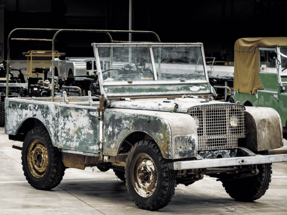 The 1948 Pre-Production Land Rover