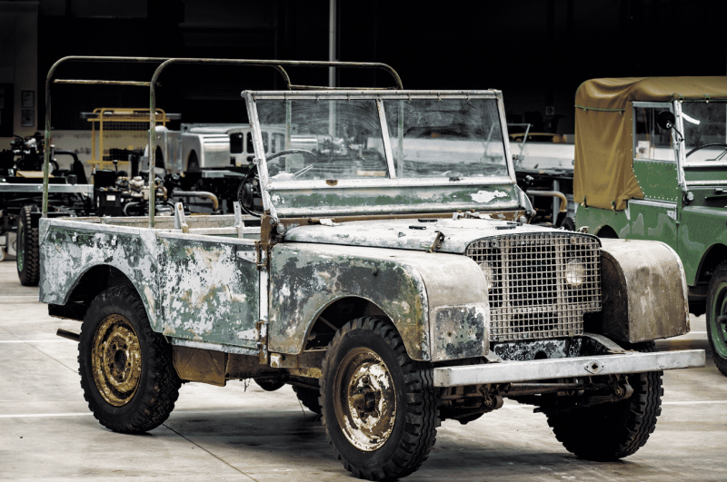 Pre-production 1948 Land Rover to be restored to mark British brand's 70th anniversary
