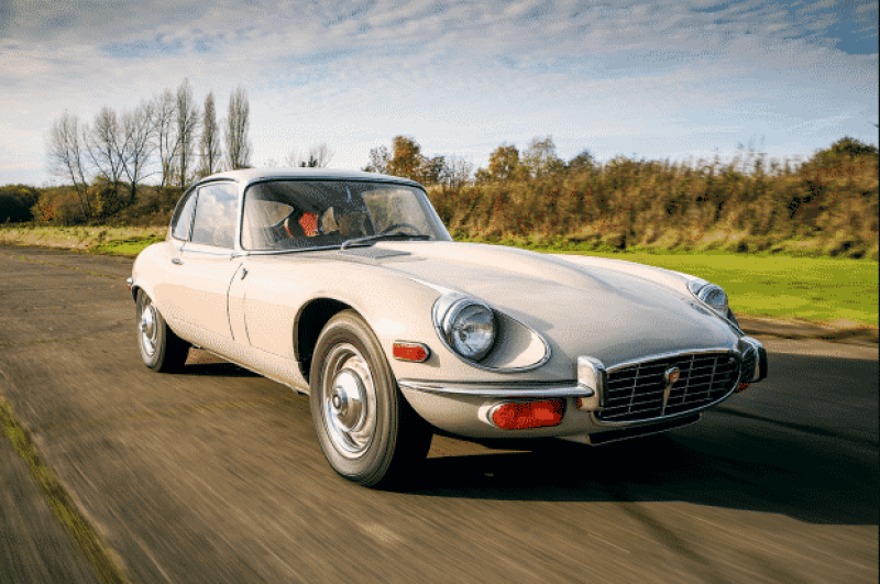 "Rare as they Come: Jaguars ""Ghost"" E-Type"