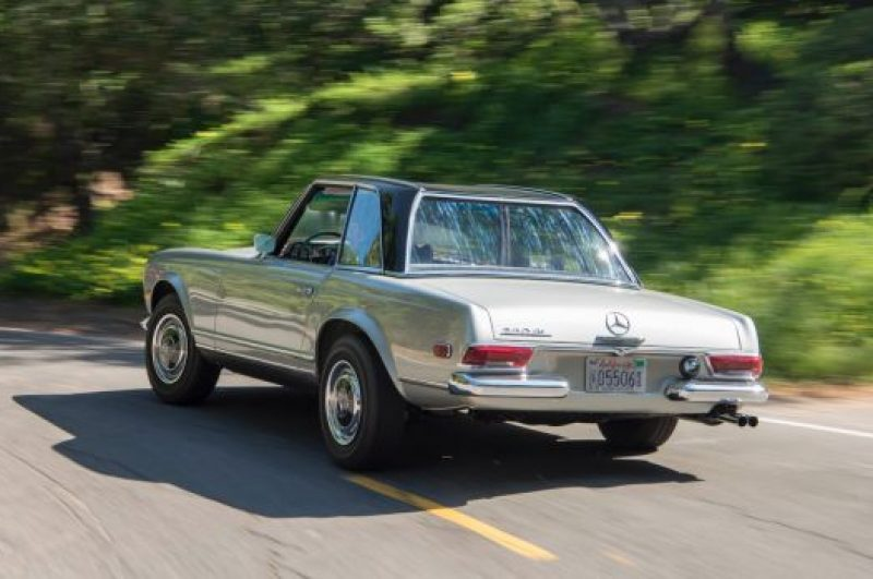 The 1969 Mercedes 'Pagoda' (280SL)