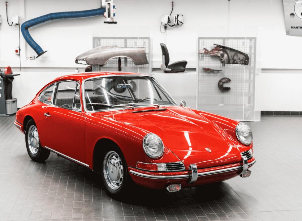 Restored Porsche 911