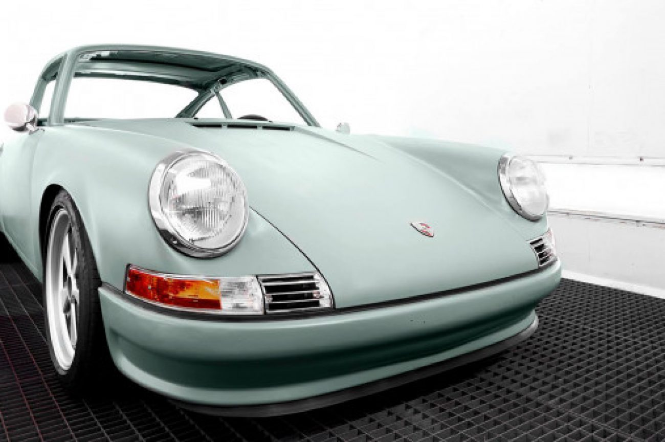 Porsche 911s Transformed into Electric Cars?
