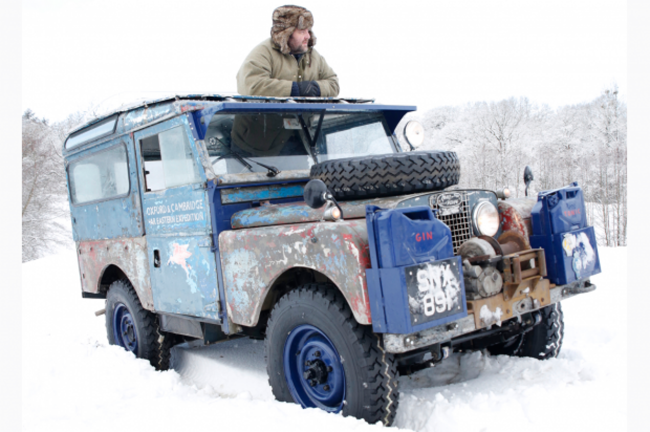 """Only Surviving Land Rover Station Wagon """"86 – A Brief History"""