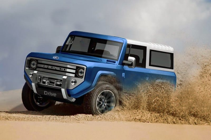Ford's Bronco Is Back, Baby