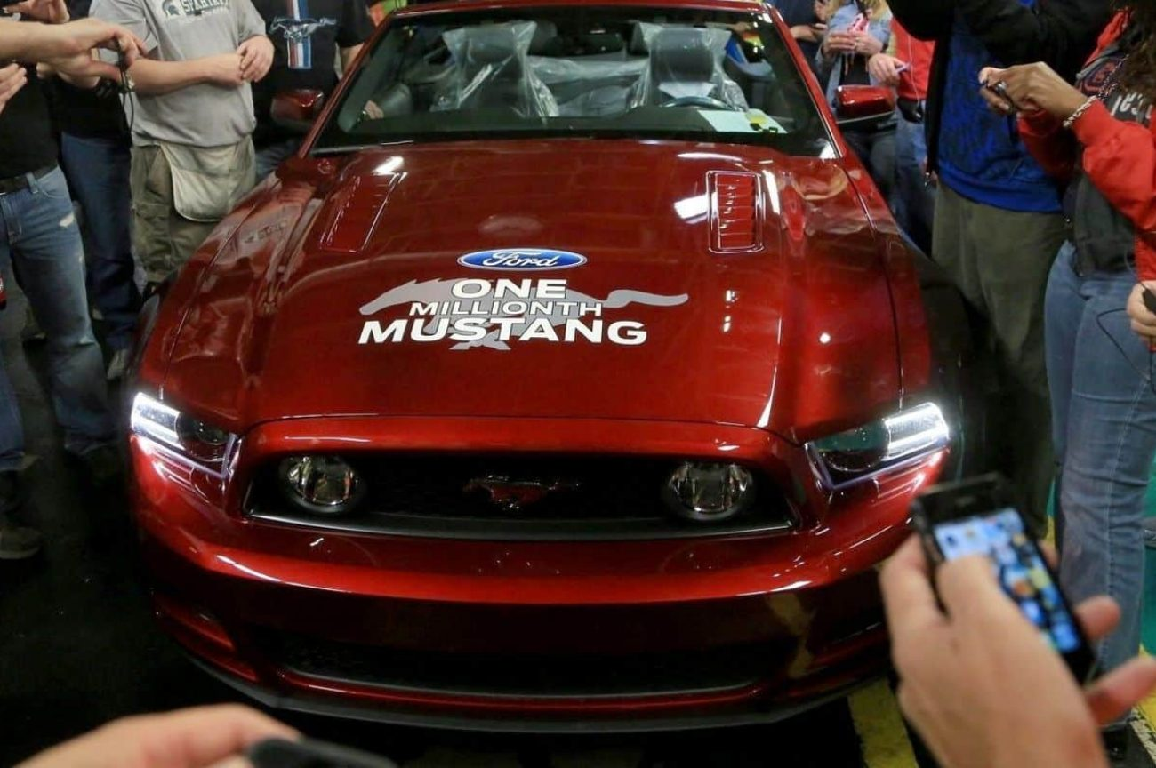 Millionth Ford Mustang Produced Just Two Years After It's First
