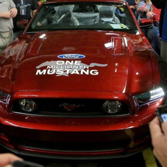 Fords Millionth Mustang