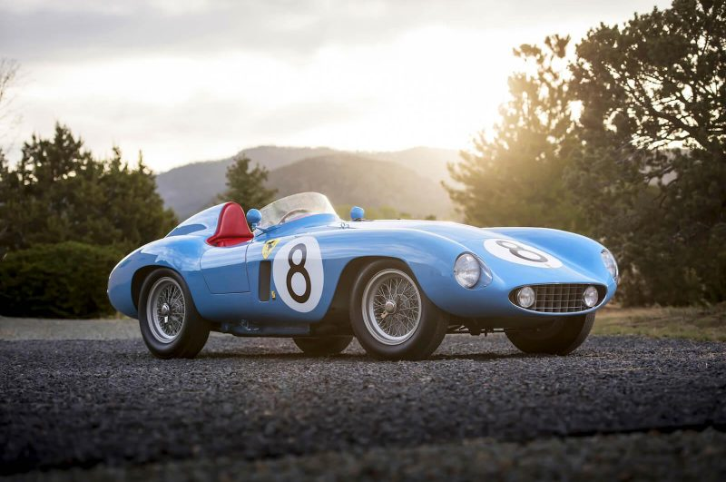 The Rare 1955 Ferrari 500 Mondial Series II