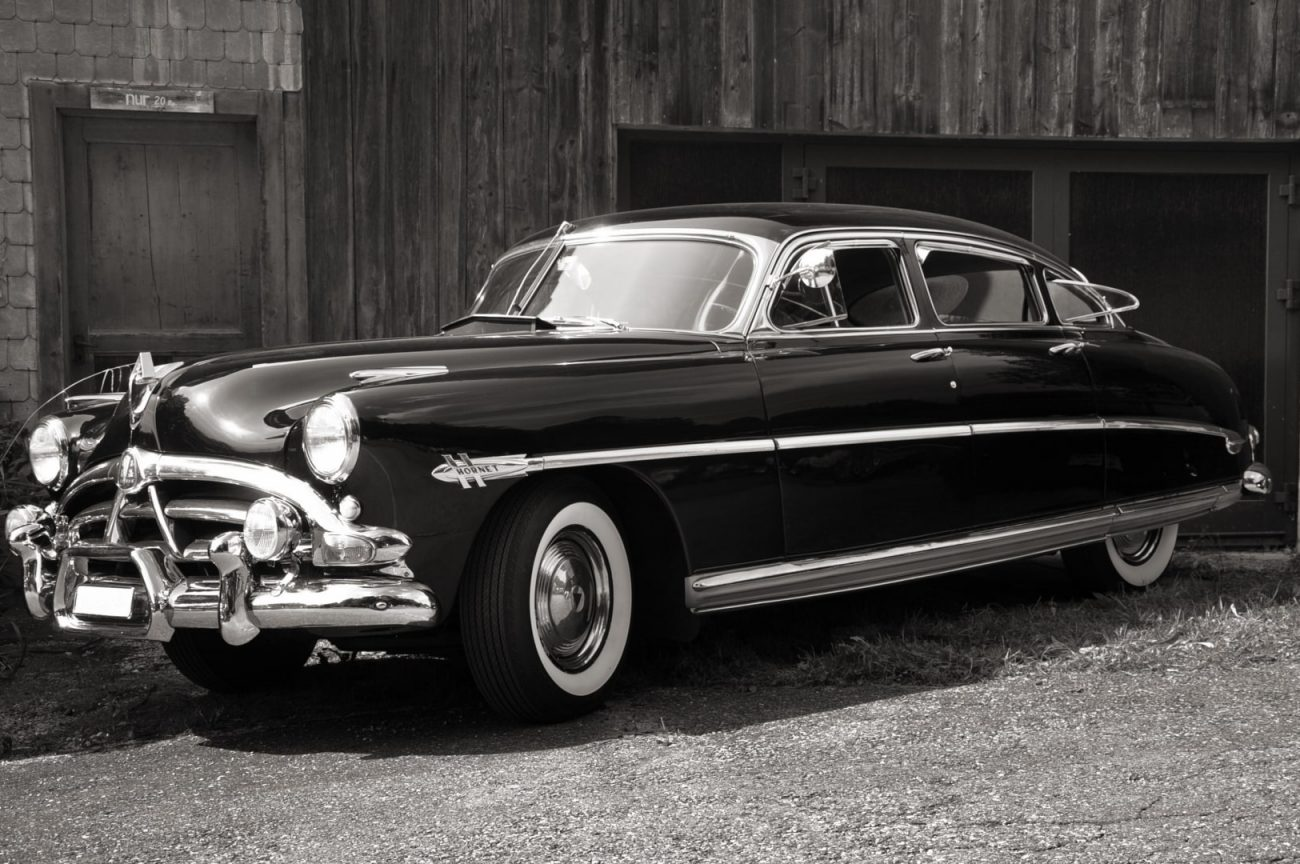 Hudson Hornet, a Rocket in its Day.