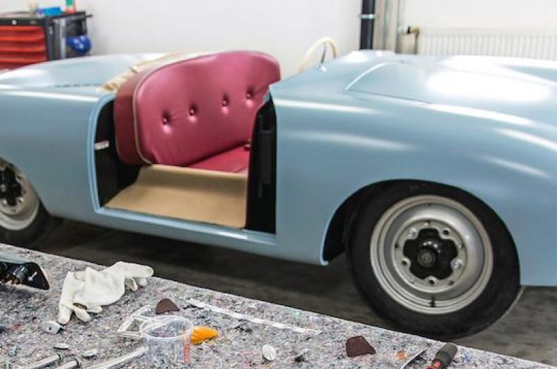 Porsche Re-Creates 356 Roadster No1