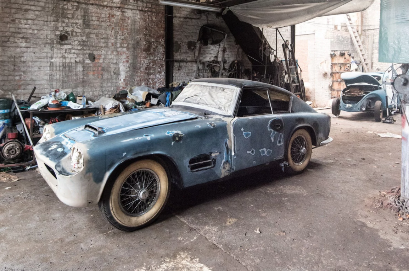Barn Find: One of a Kind Jaguar XK140
