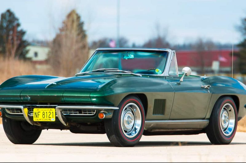Bart Starr's 1967 Corvette up for Auction