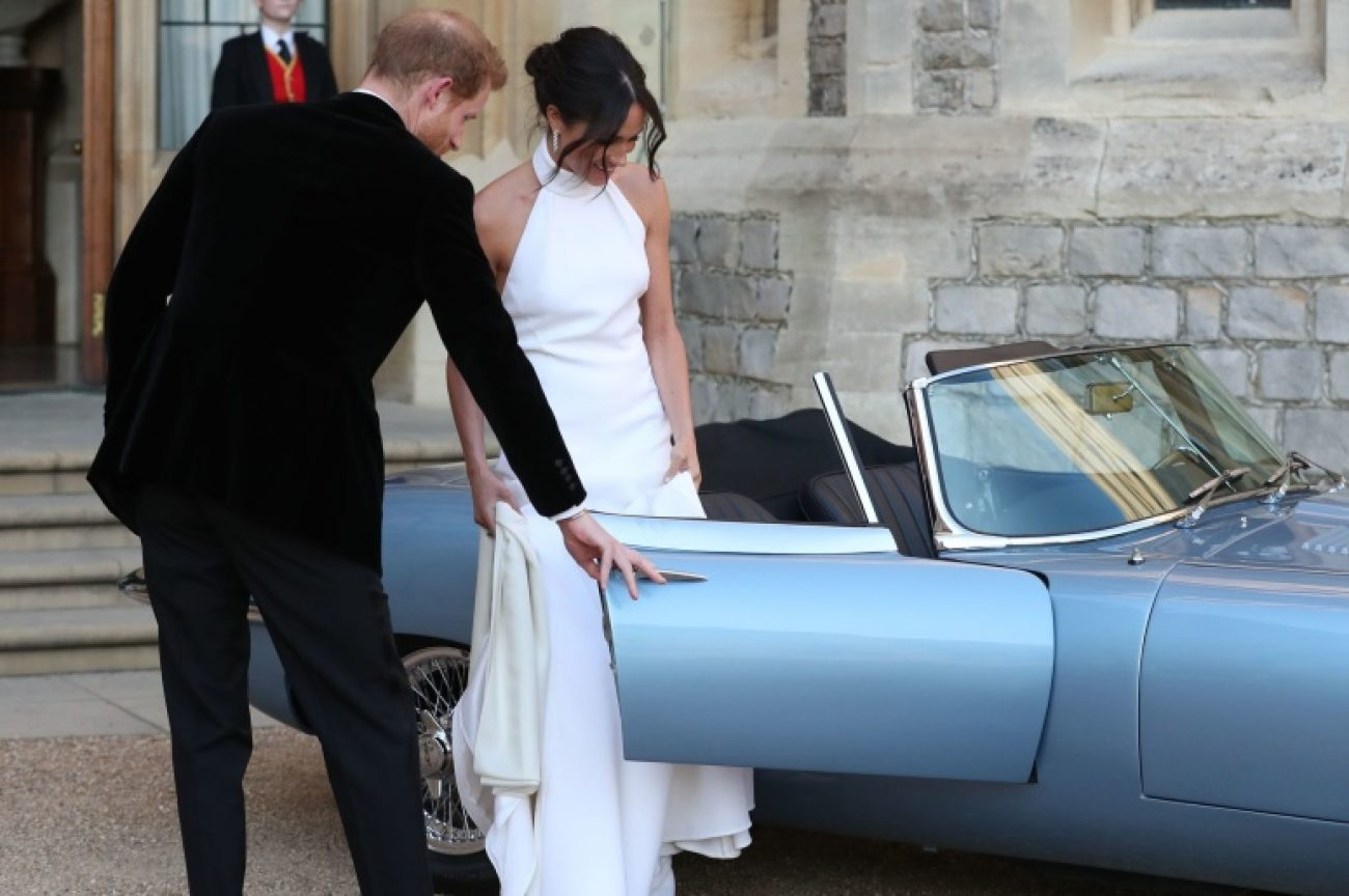 The Royal Wedding's Royal Car: Jaguar E-type