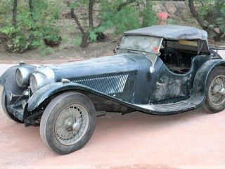 Jaguar 1938 SS-100