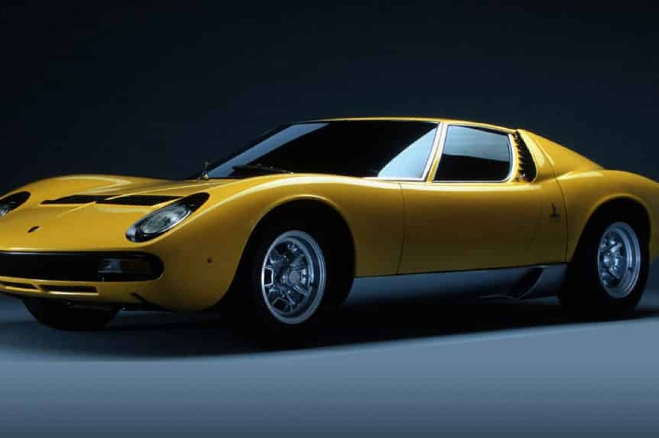 The Minds behind the Lamborghini Miura